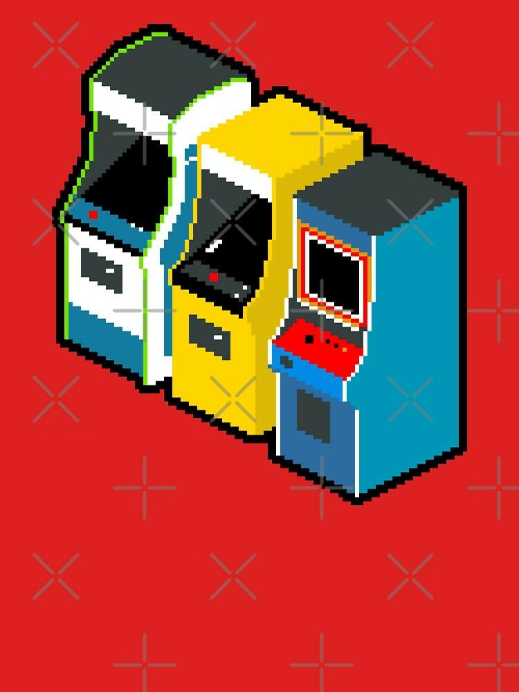 RedBubble: Arcade 80s