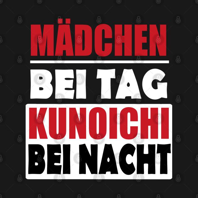 TeePublic: Kunoichi Karate Ninja Sport Lustig Mädchen Sprüche