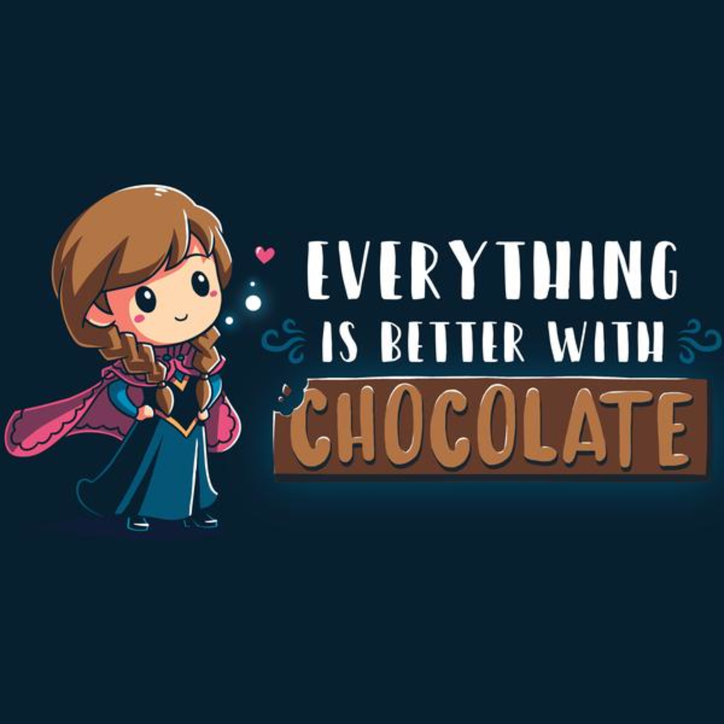 TeeTurtle: Everything Is Better With Chocolate