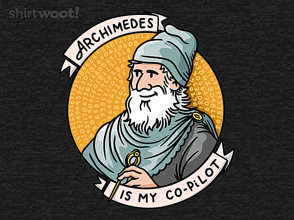 Woot!: Archimedes is my Co-PiLot