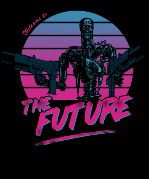Qwertee: Welcome to the Future