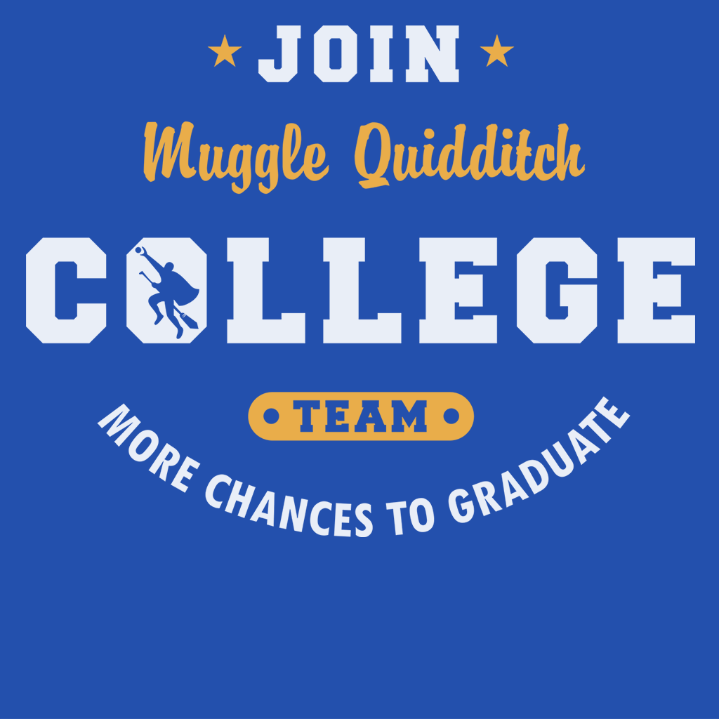 Pop-Up Tee: Muggle Quidditch