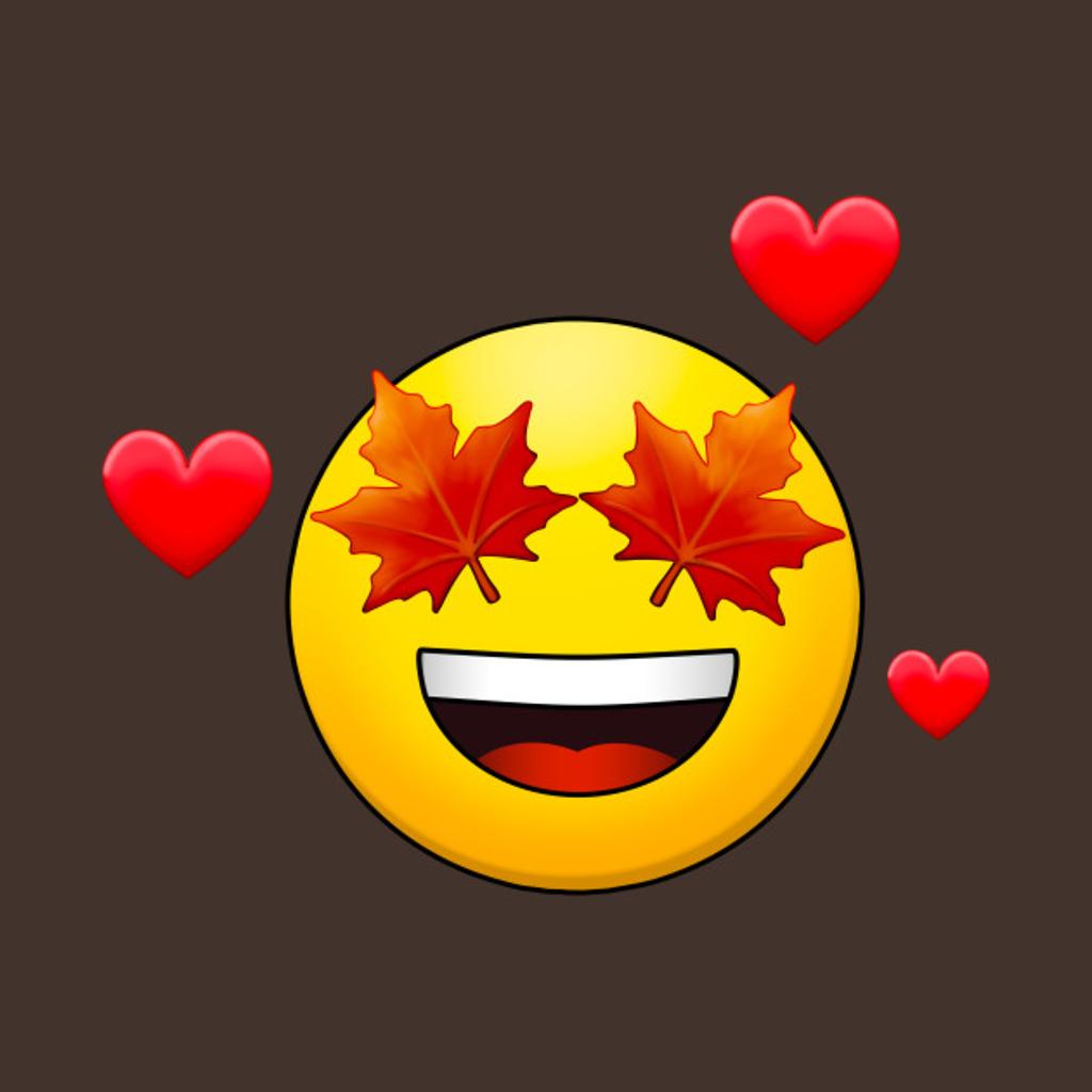 TeePublic: I Love Fall!