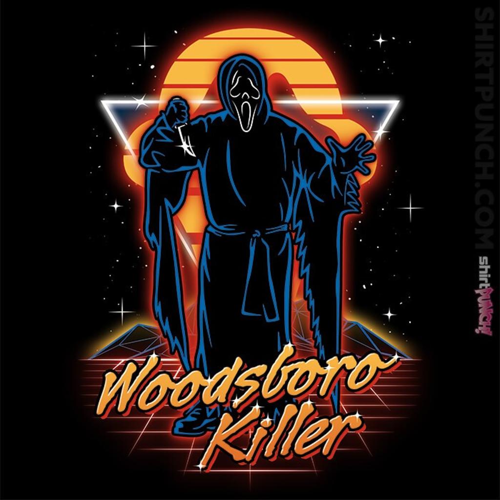 ShirtPunch: Retro Woodsboro Killer