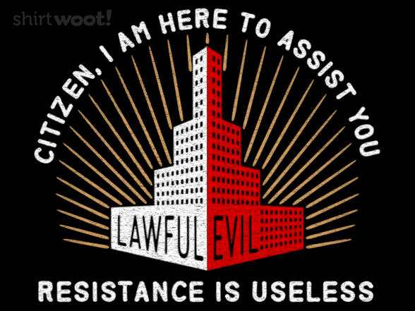 Woot!: Lawful Evil - $8.00 + $5 standard shipping