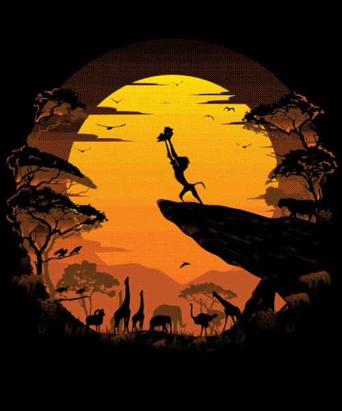 Qwertee: The Circle of Life