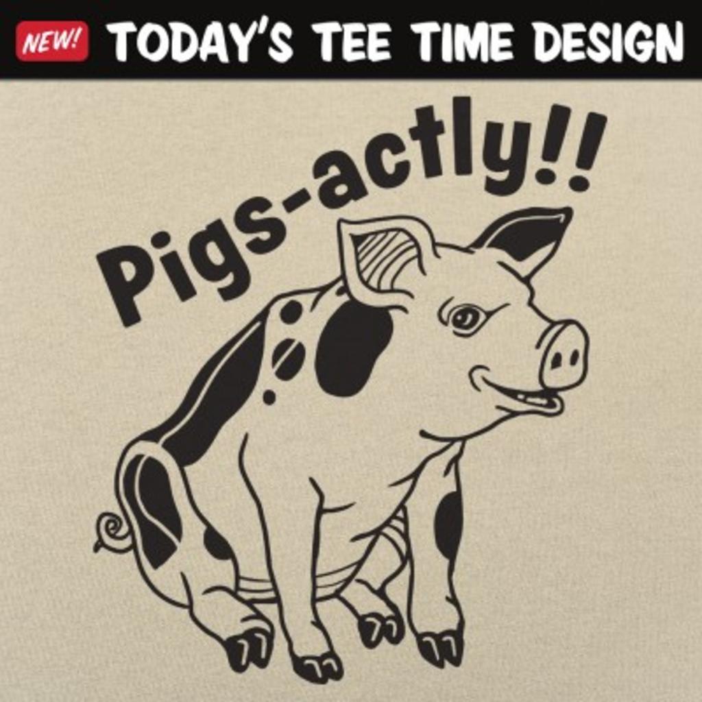 6 Dollar Shirts: Pigsactly