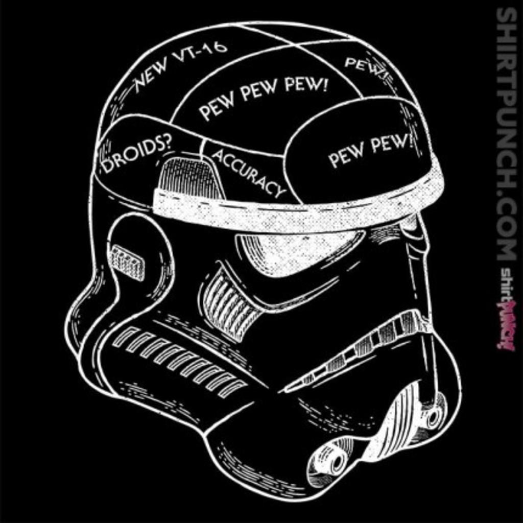 ShirtPunch: Stormtrooper Phrenology