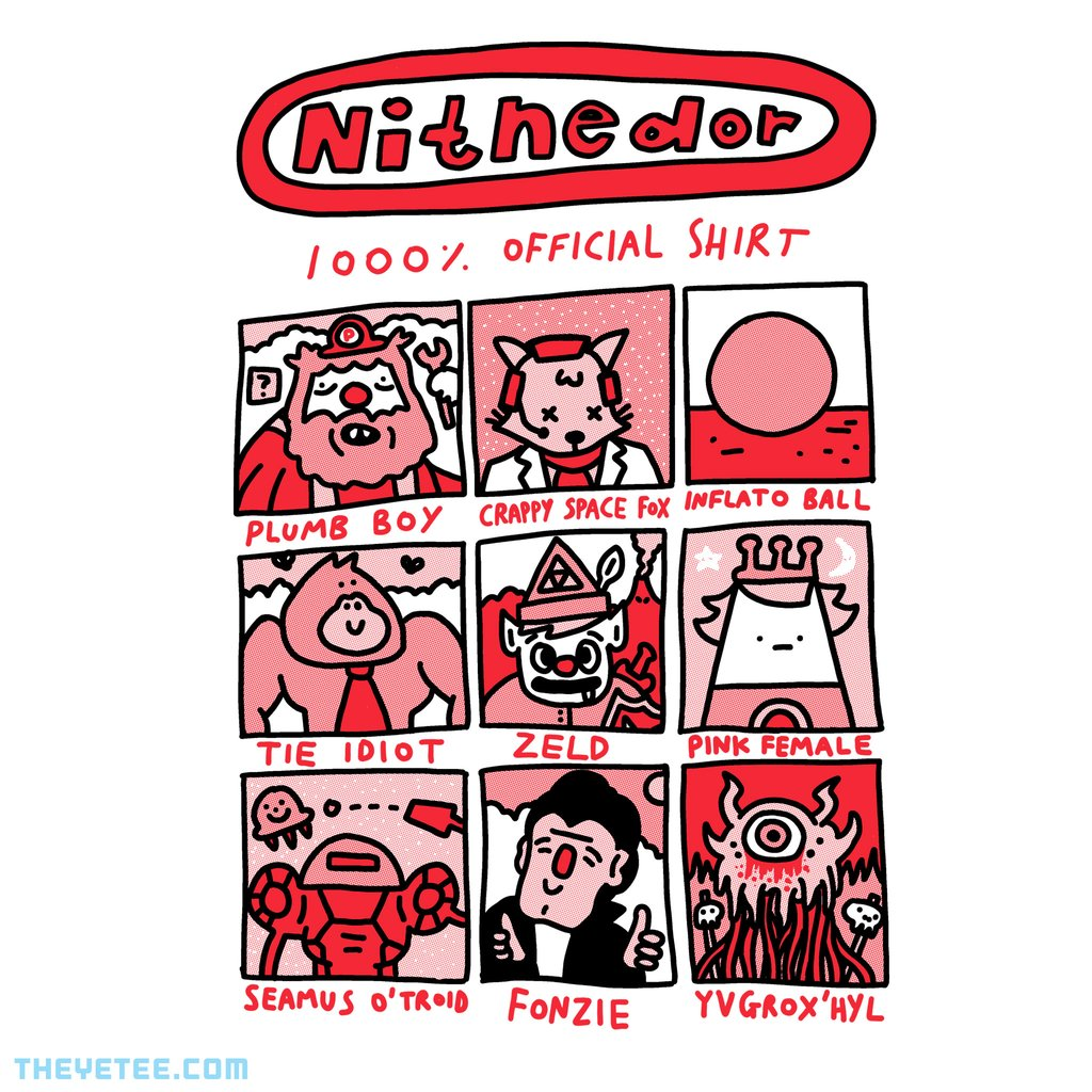 The Yetee: Nitnedor 1000% Official Shirt