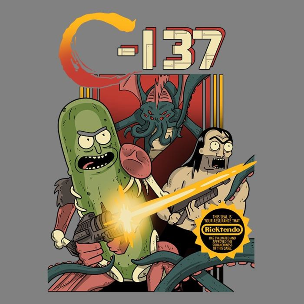 Once Upon a Tee: Schwifty Squad