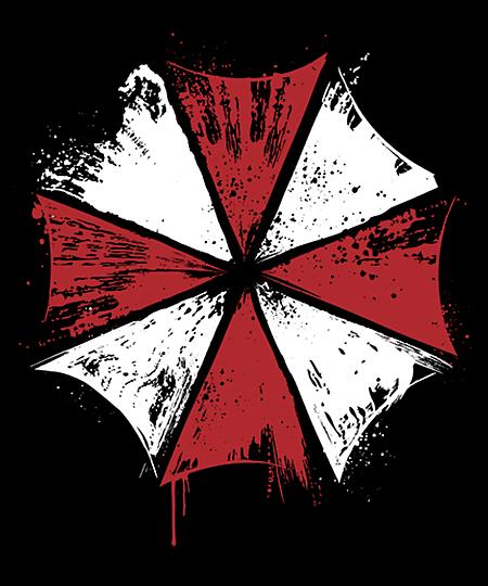 Qwertee: Umbrella Corp