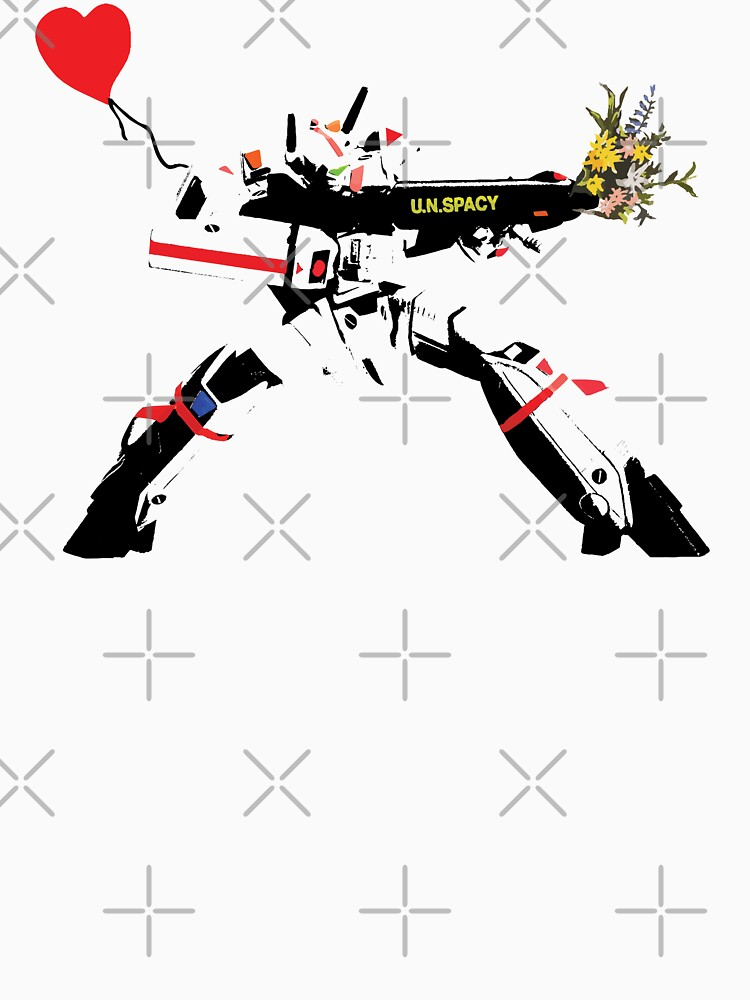 RedBubble: VF-1J (Banksy version)