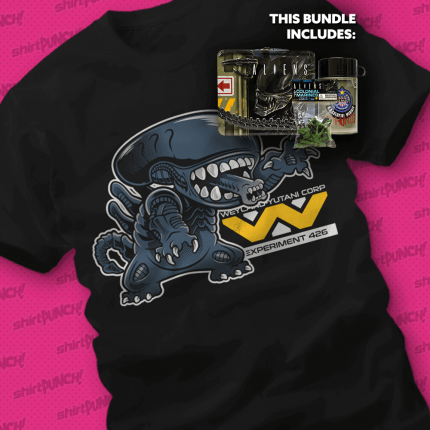 ShirtPunch: During Lunch, No One Can Hear You Scream Bundle