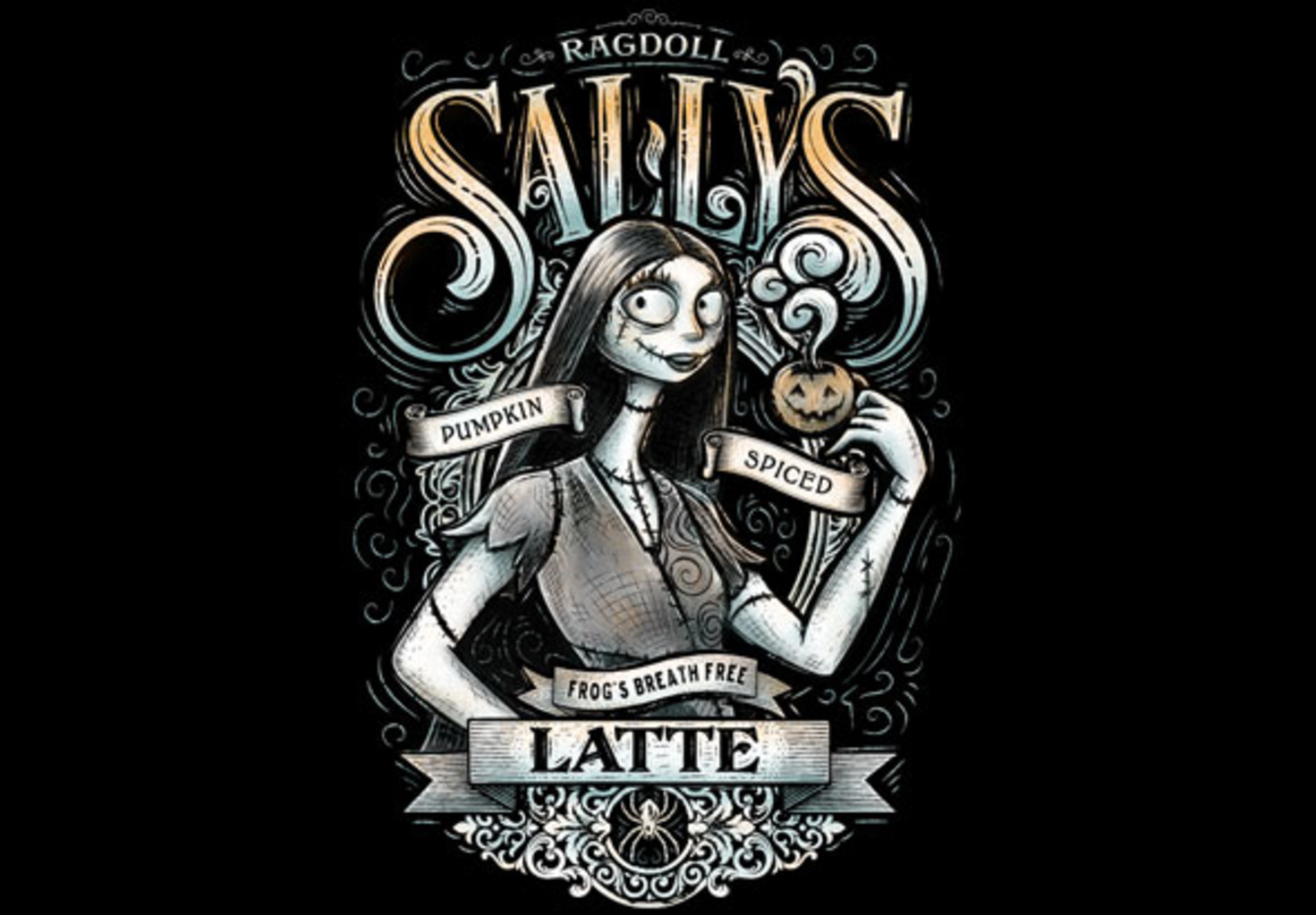 teeVillain: Ragdoll Sally's Latte