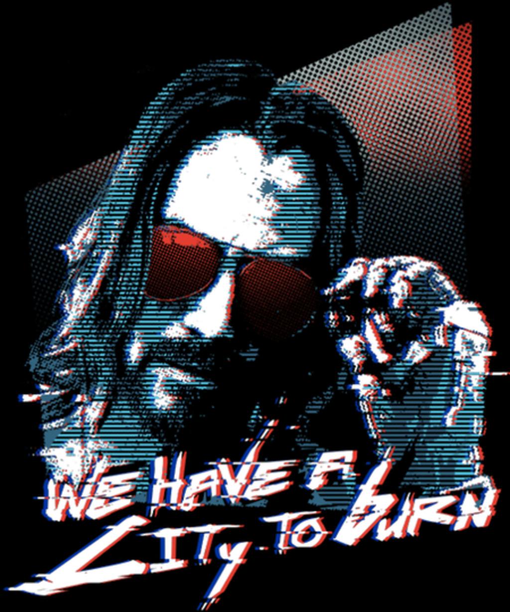 Qwertee: Cyberpunk Keanu