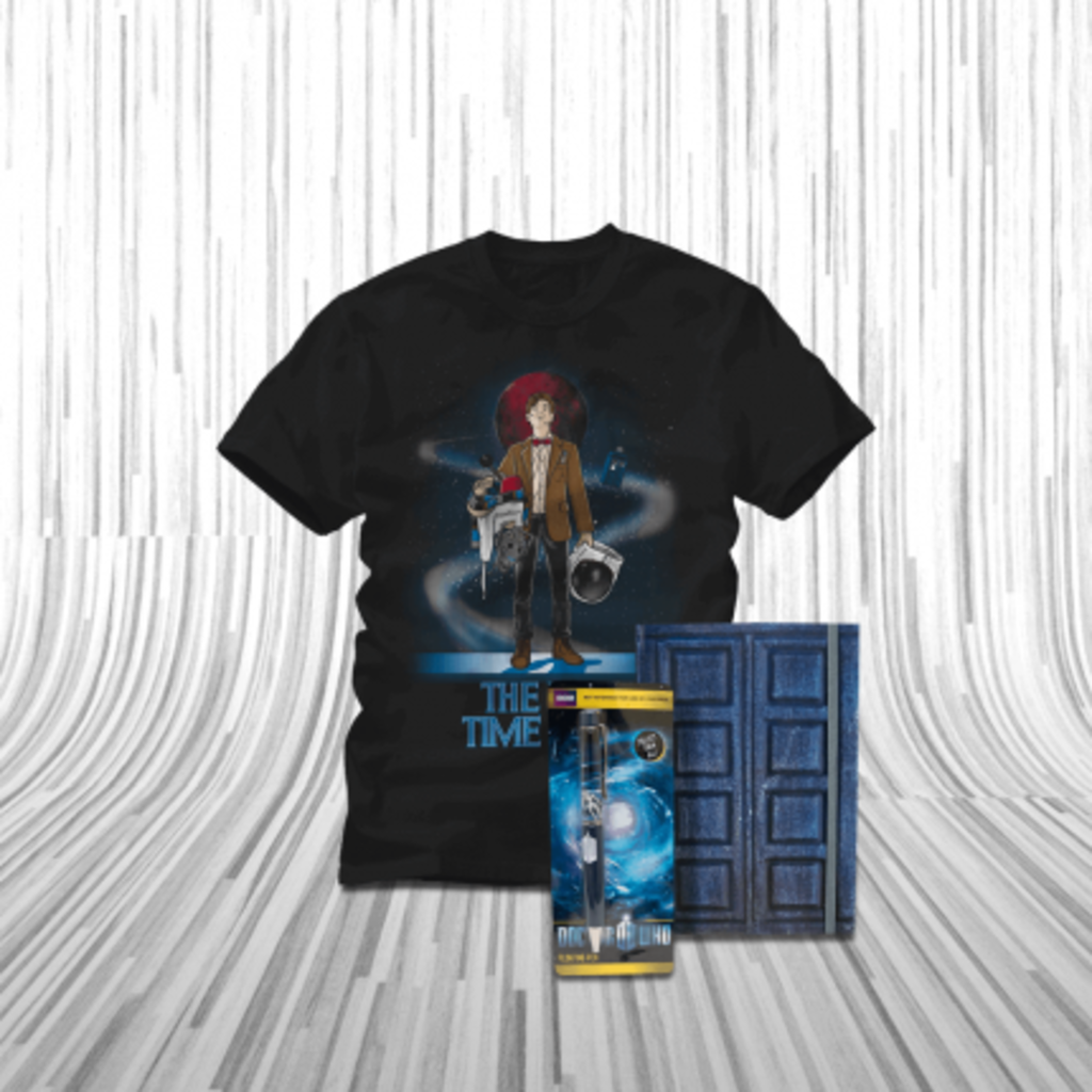 ShirtPunch: The Journal of the Doctor Bundle