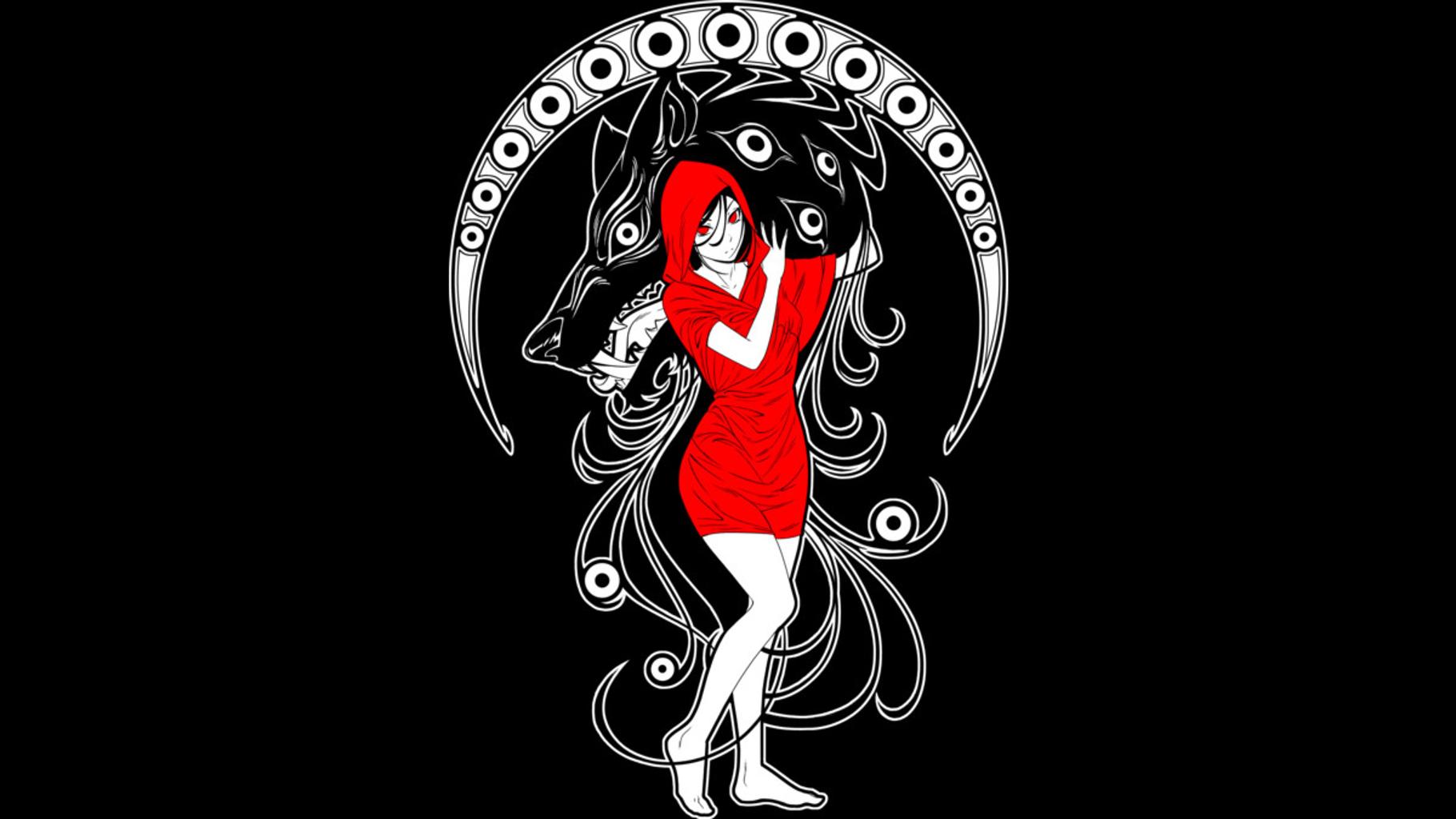 Design by Humans: Nouveau Red