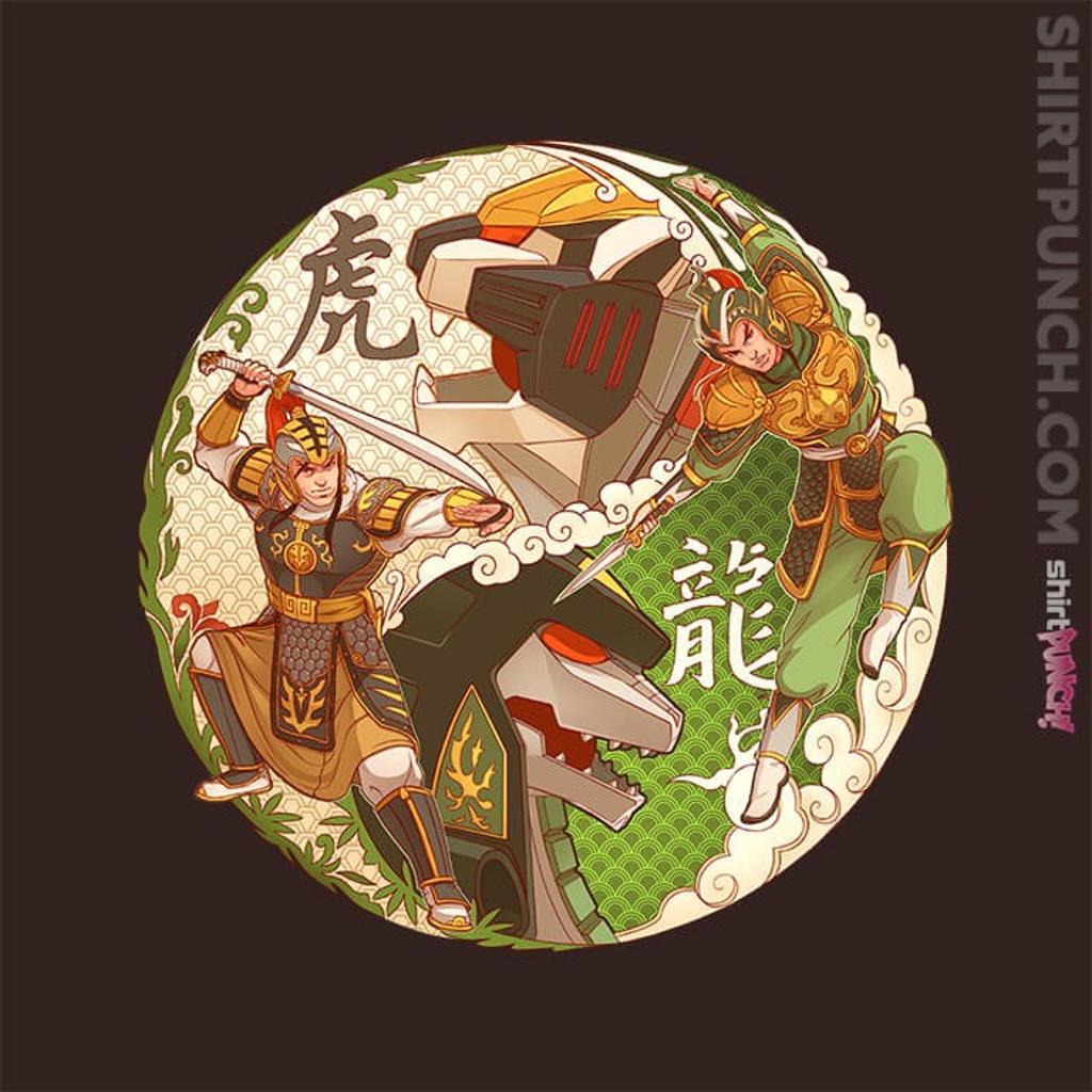ShirtPunch: Zord Dynasty