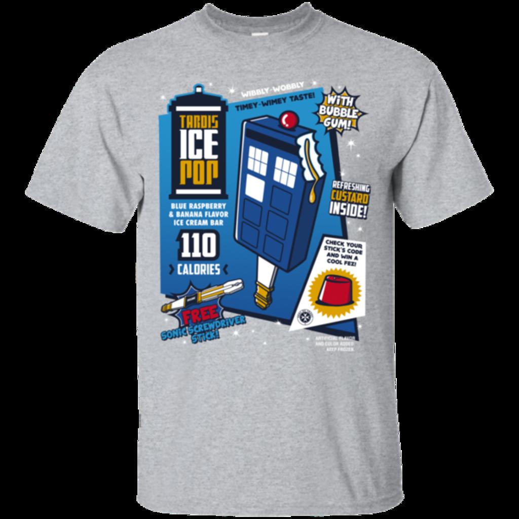 Pop-Up Tee: Tardis Ice Pop