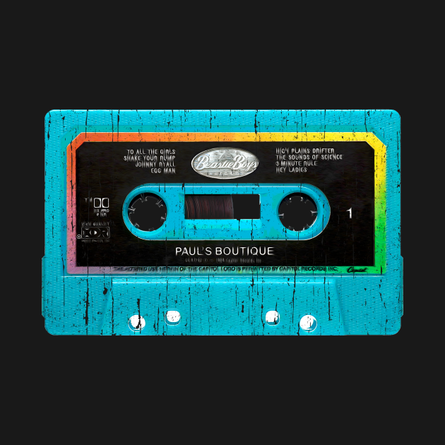 TeePublic: beastie boys paul's boutique cassette