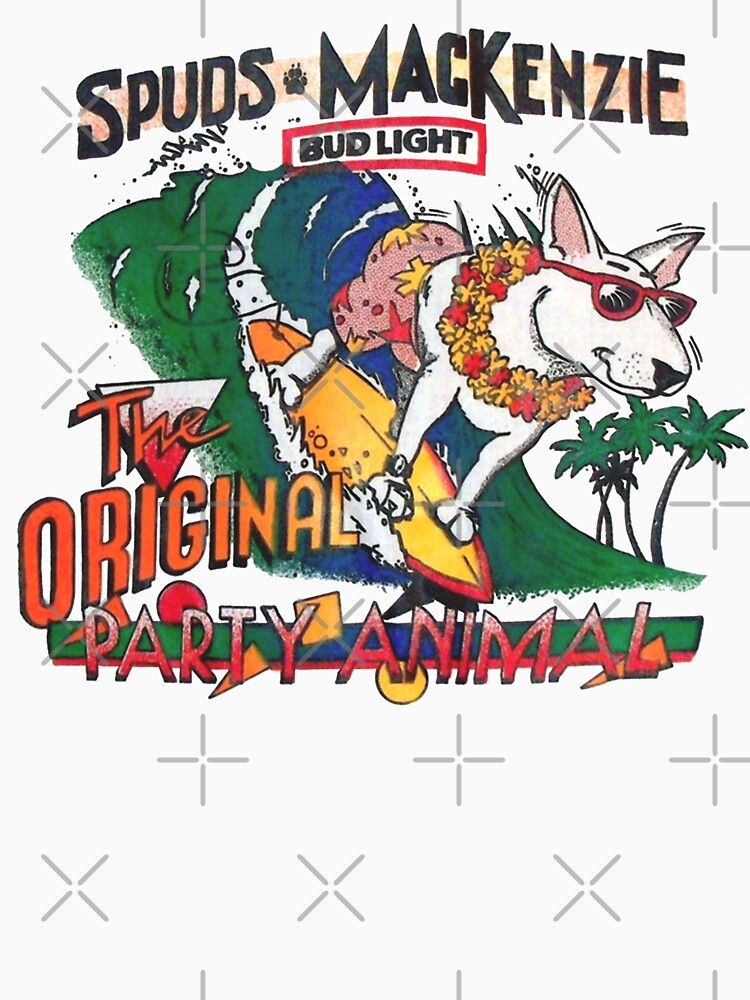 RedBubble: Spuds Mackenzie (80's Throwback)