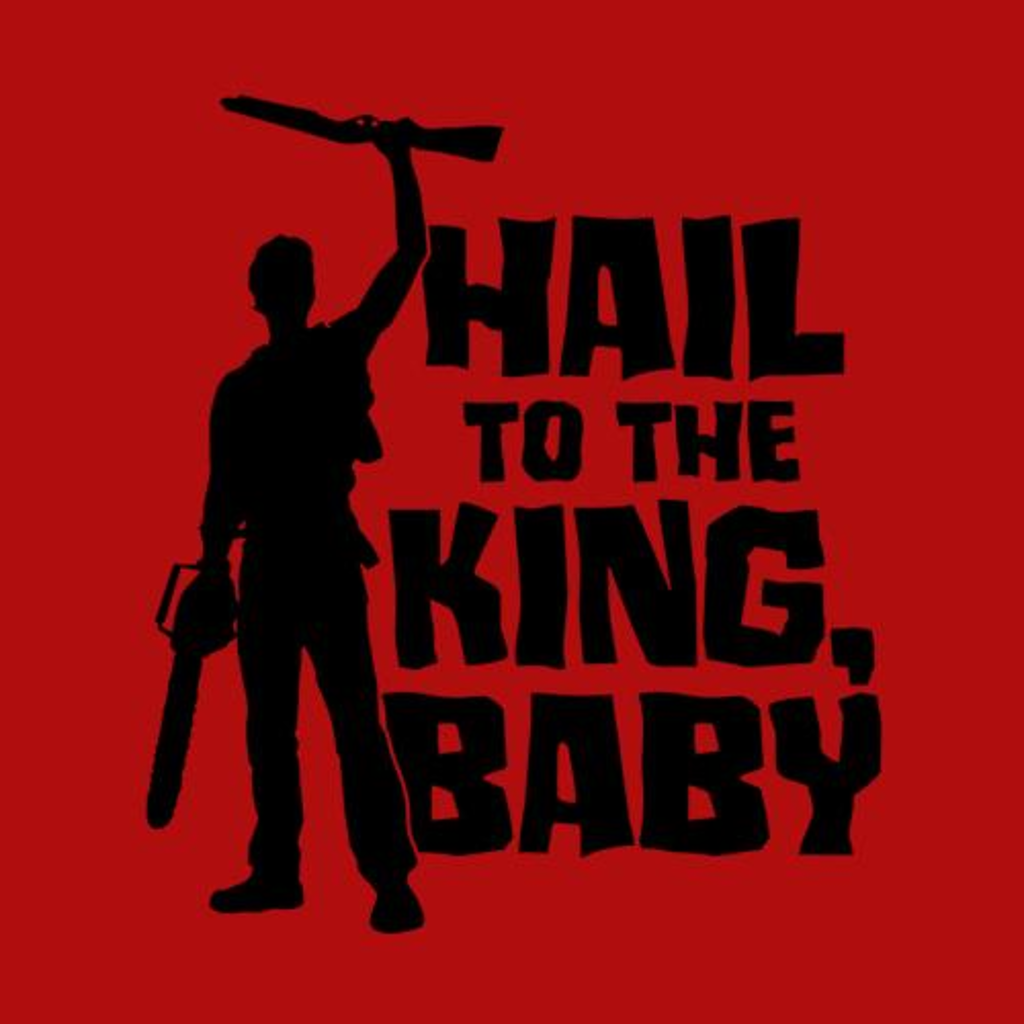 Five Finger Tees: Hail To The King Baby T-Shirt