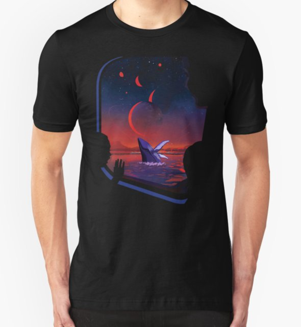 RedBubble: Space Whale