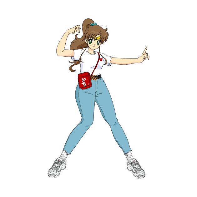 TeePublic: Sailor Jupiter