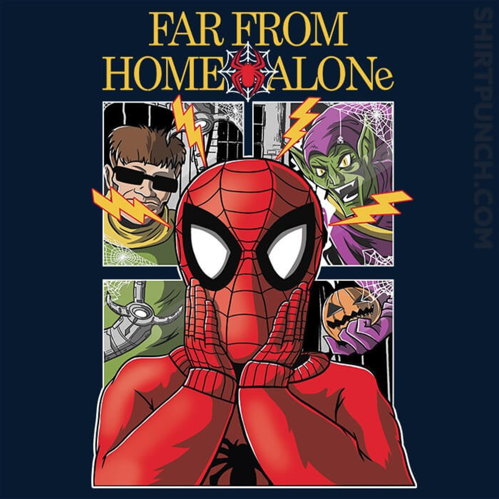 ShirtPunch: Far From Home Alone