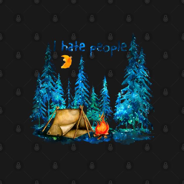 TeePublic: I Hate People