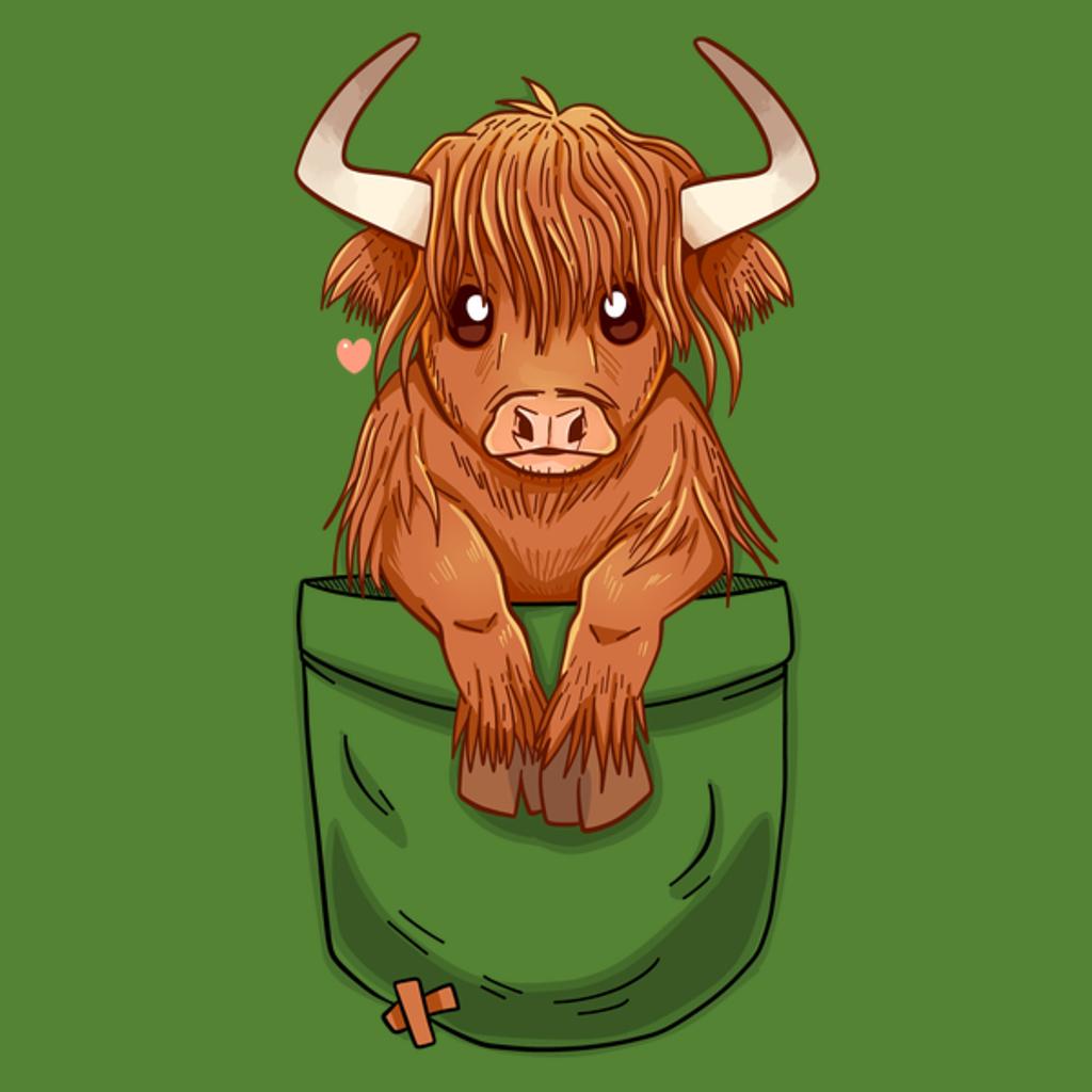 NeatoShop: Pocket Cute Scottish Highland Cow