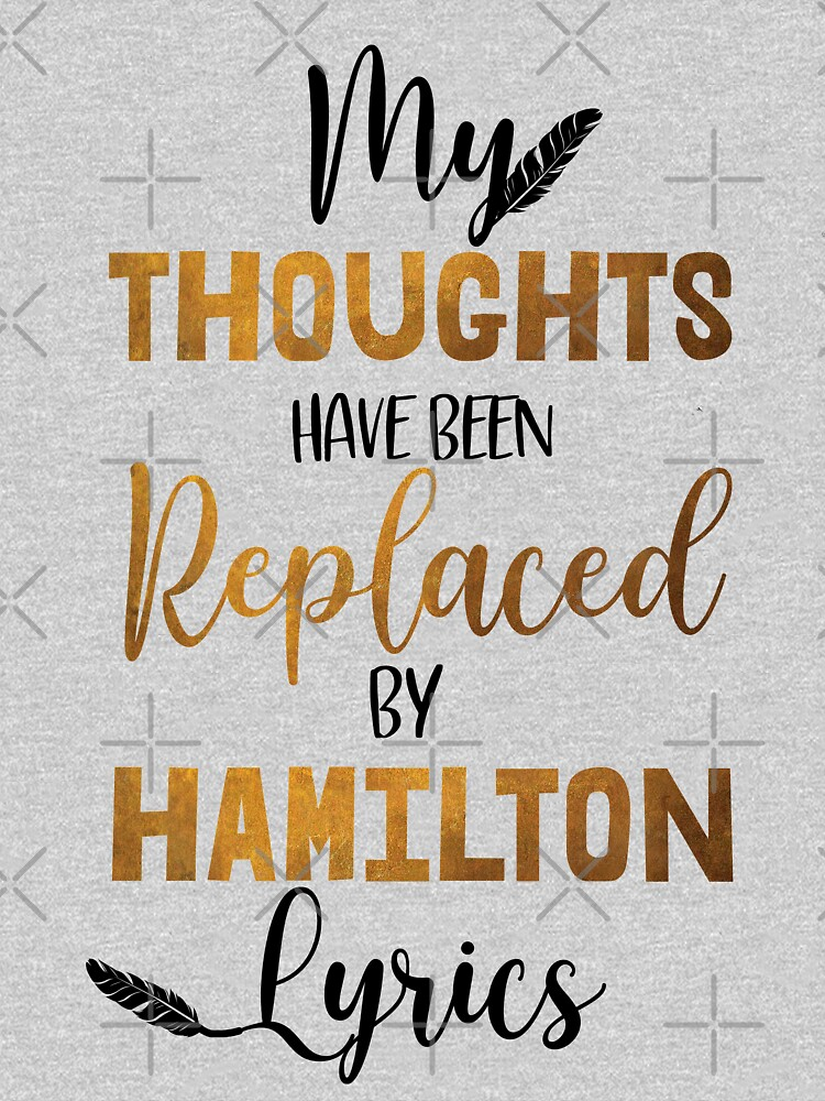 RedBubble: Hamilton - Musical theater