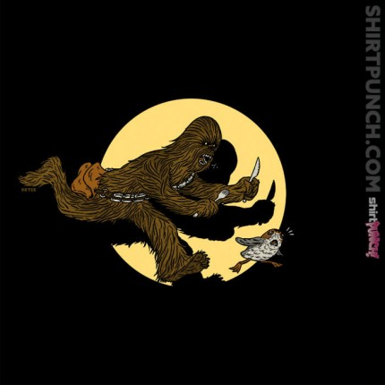 ShirtPunch: The Adventures of Chewie and Porg