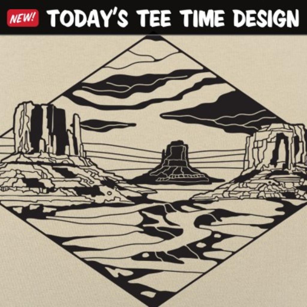 6 Dollar Shirts: Monument Valley