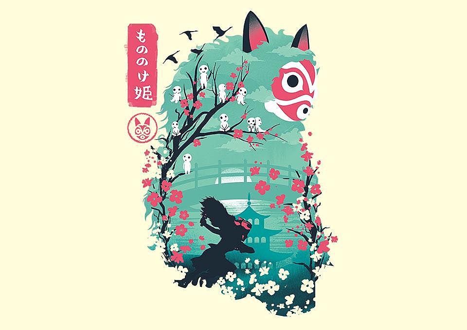 TeeFury: Ukiyo-e Princess