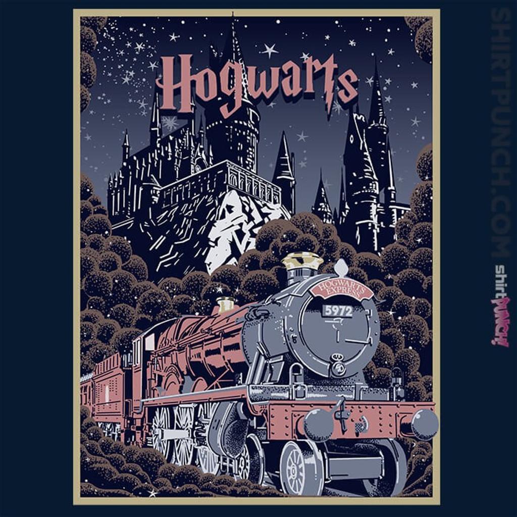 ShirtPunch: Visit Hogwarts