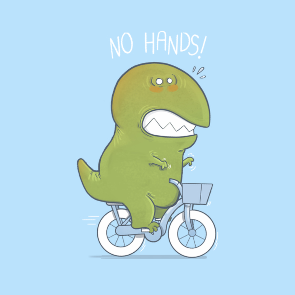 NeatoShop: T-Rex Tries Biking