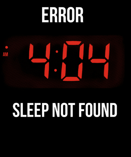 Qwertee: Sleep error