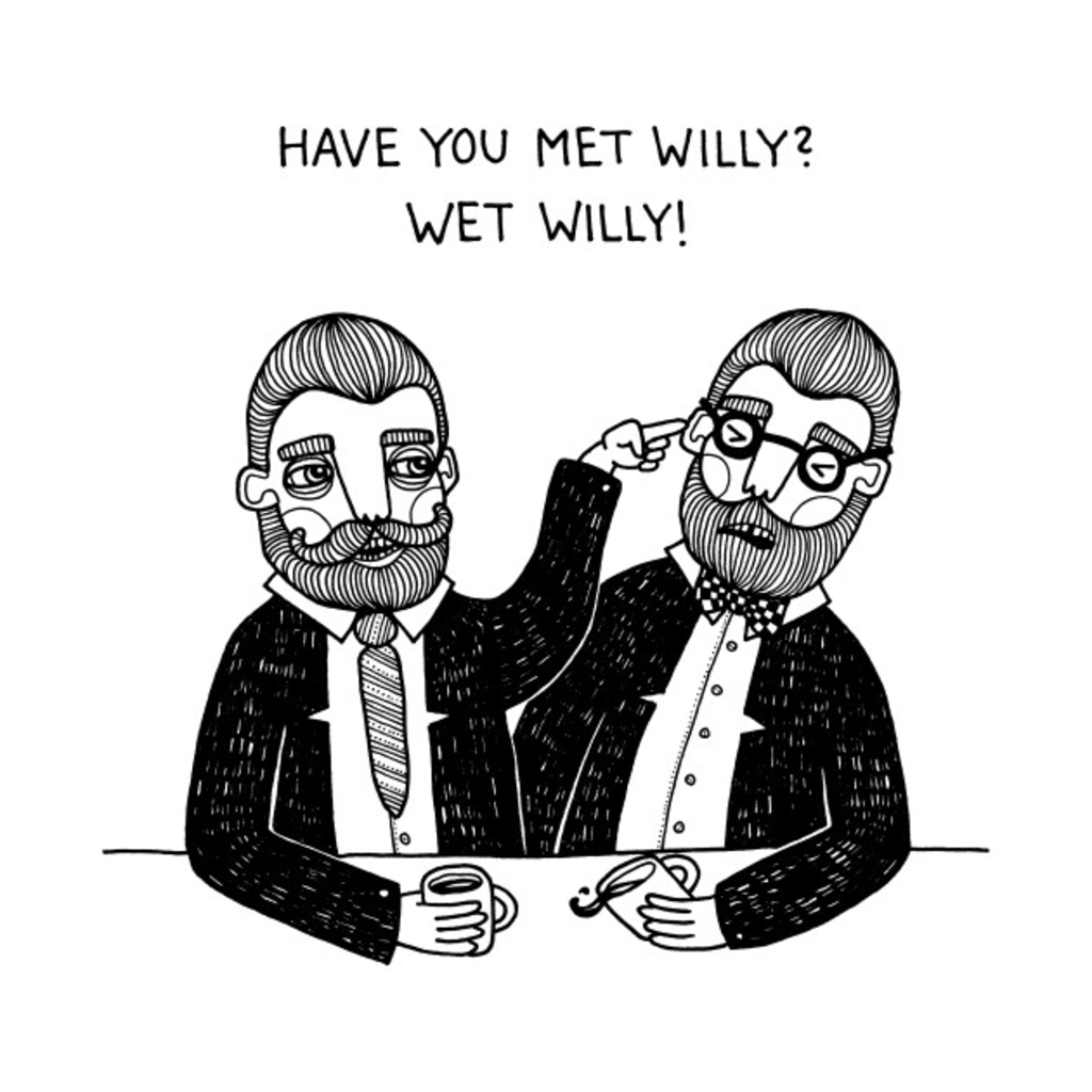 TeePublic: Wet Willy