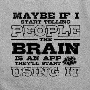 BustedTees: Brain Is An App