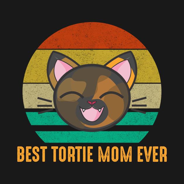 TeePublic: Best Tortie Mom Ever Cute Tortoiseshell Cat Lover