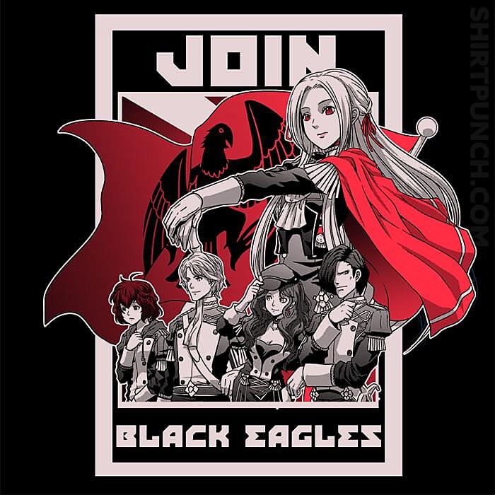 ShirtPunch: Join Black Eagles