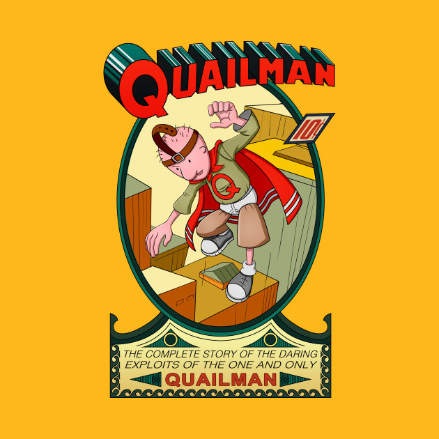 TeePublic: The Adventures of Quailman T-Shirt