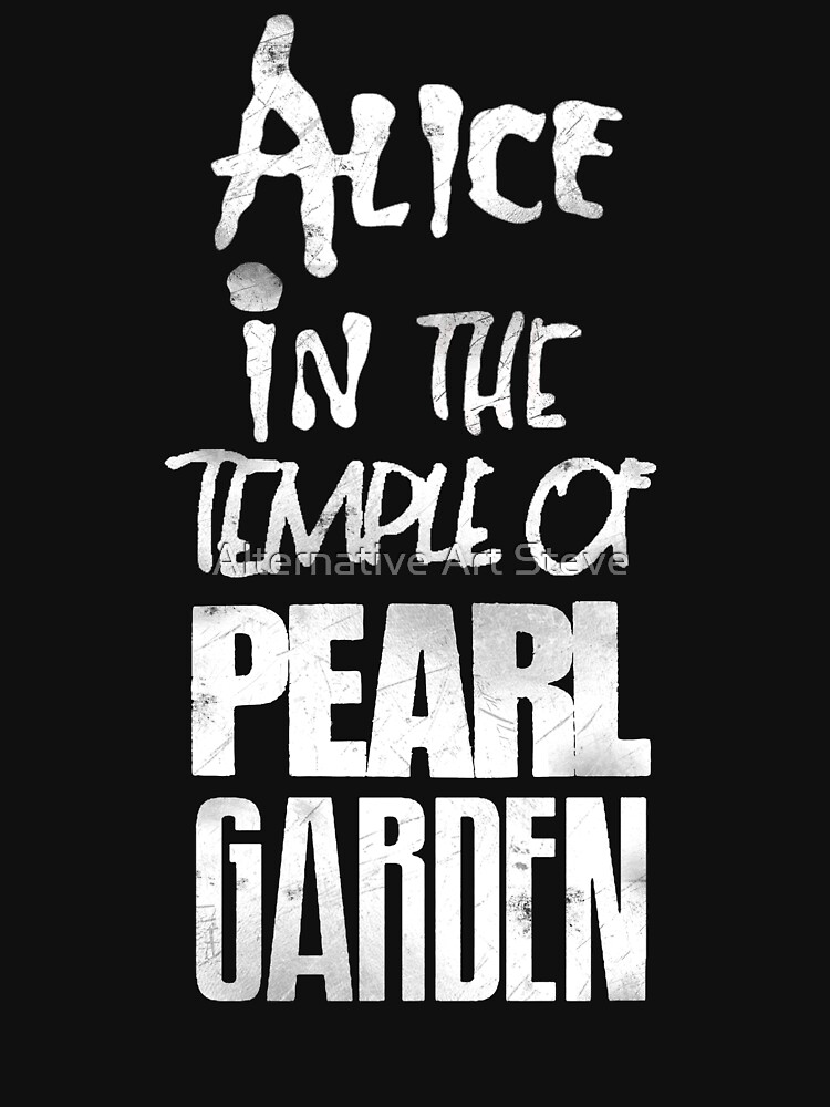 RedBubble: Alice In The Temple Of Pearl Garden