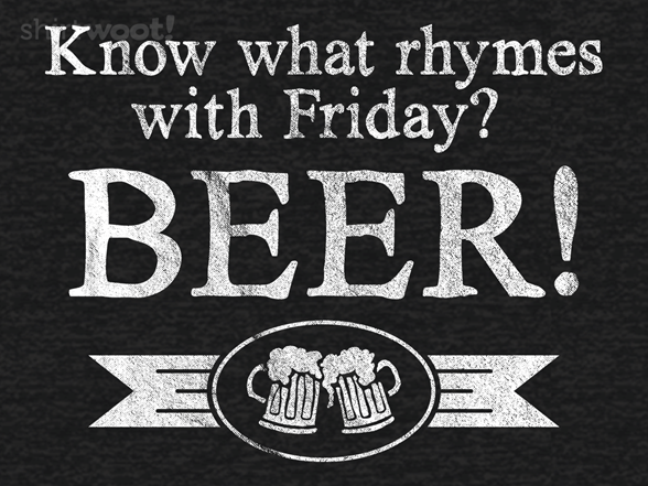 Woot!: Rhymes With Beer