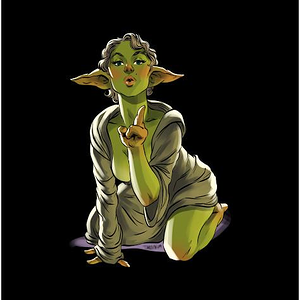Shirt Battle: Yoda Pin-Up