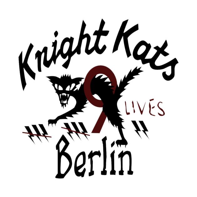TeePublic: Knight Kats Berlin