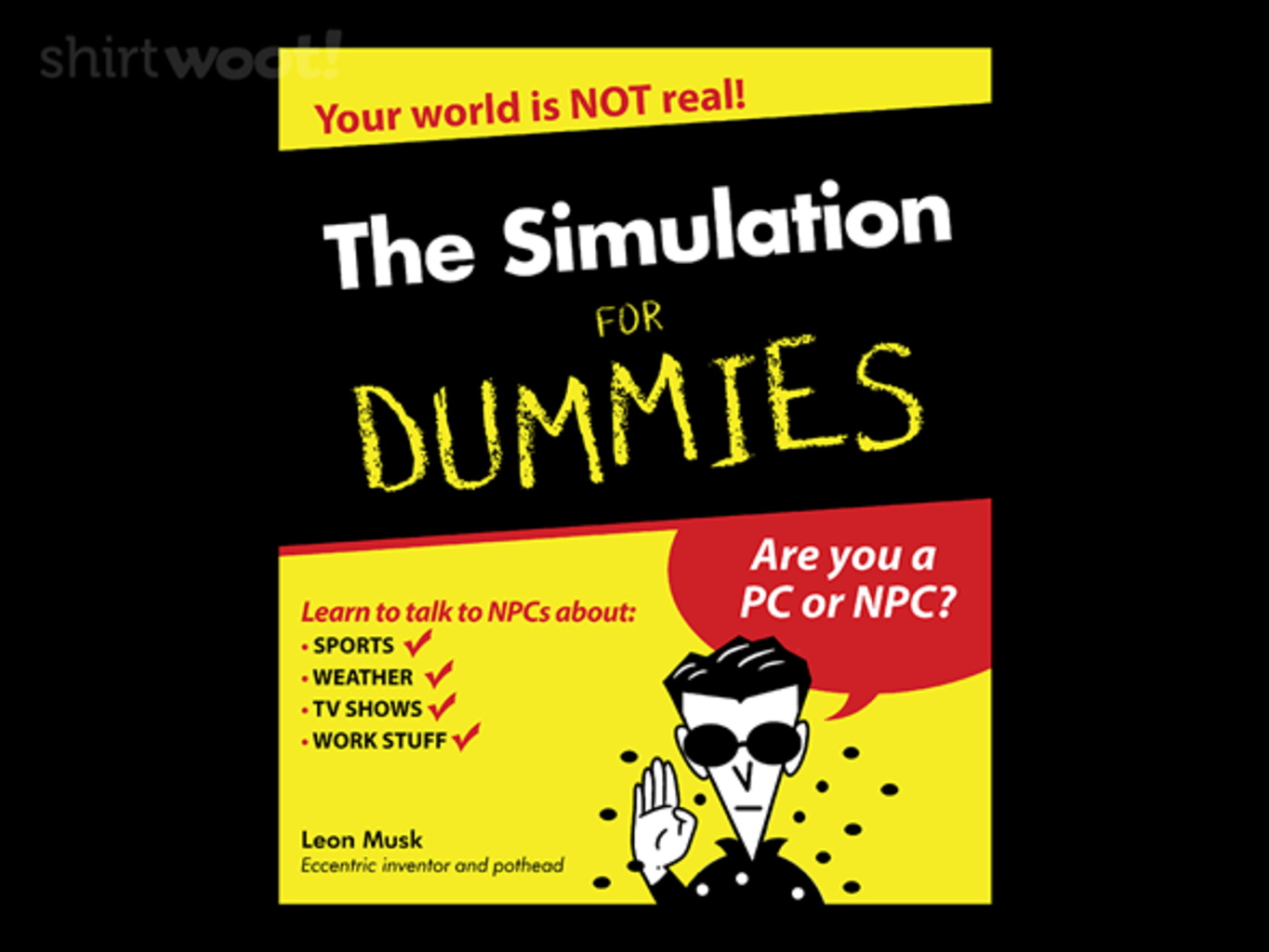 Woot!: The Simulation for Dummies