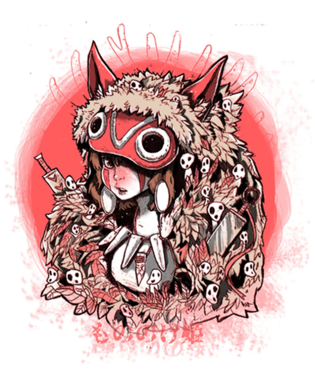 Qwertee: Warrior Princess