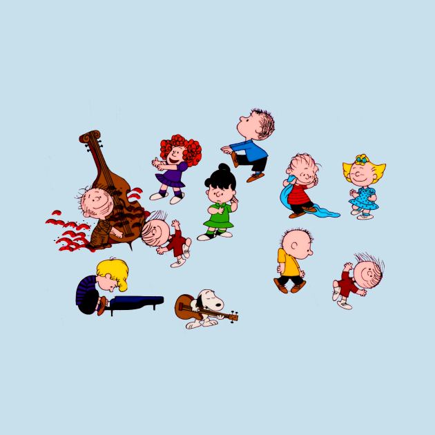 TeePublic: Charlie Brown Christmas Dance